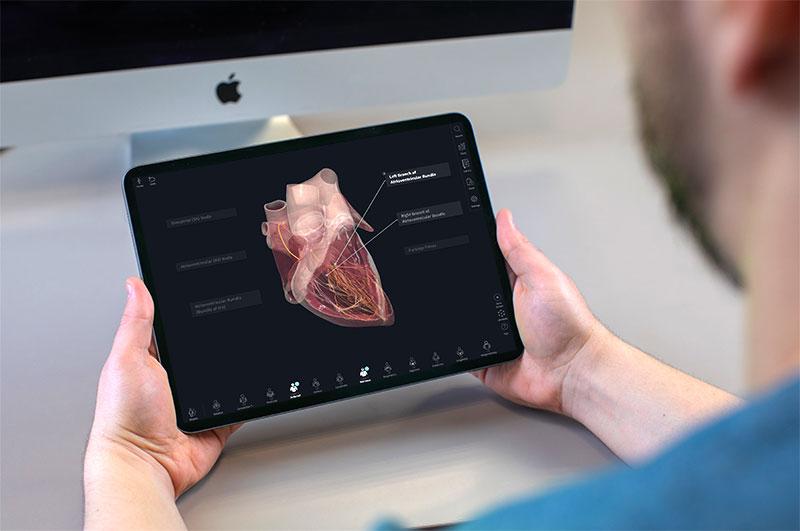 Cardiology Screen on iPad