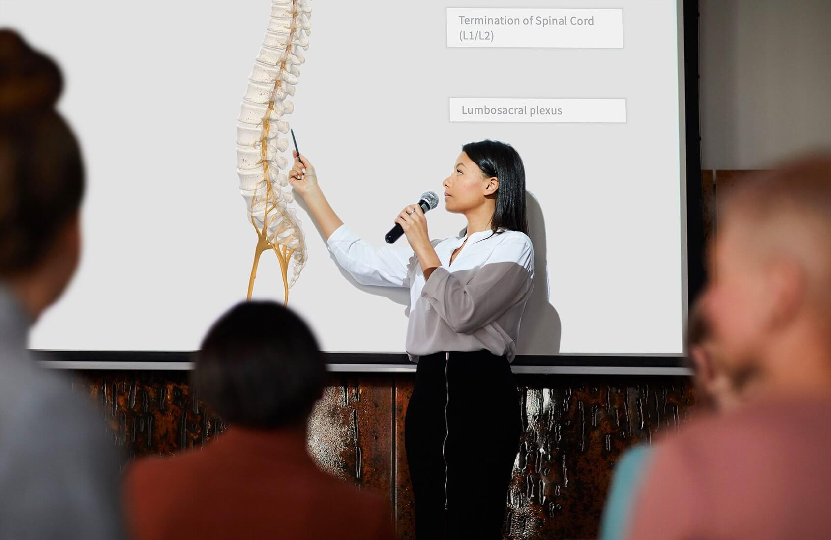 3D Anatomy in the classroom